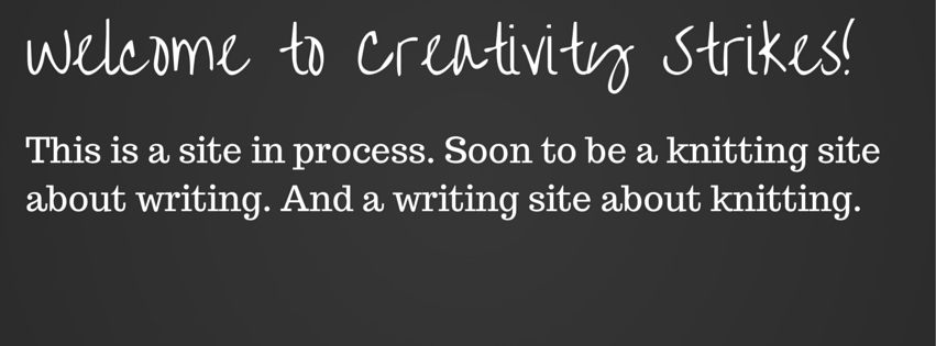Welcome to Creativity Strikes!
