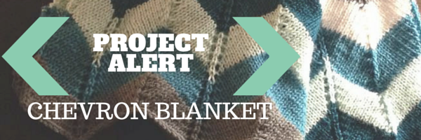 Project alert chevron blanket