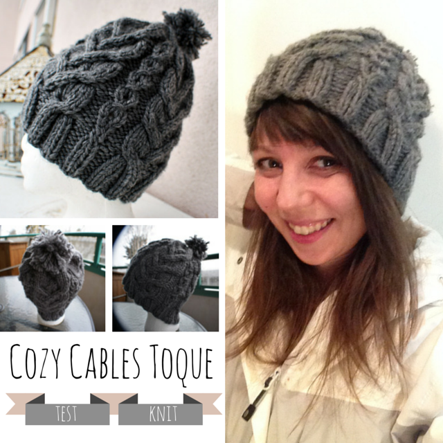 Cozy Cables Toque Pattern Creativity Strikes