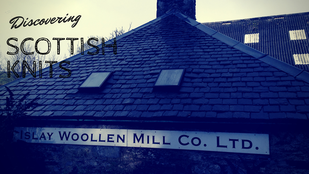 Visiting Islay Woolen Mill